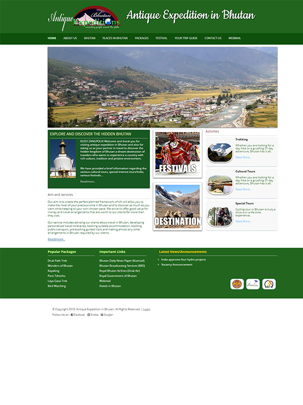 Antique Bhutan Expeditions