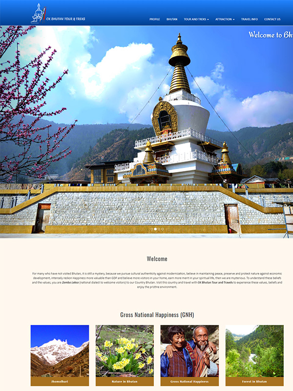 CK Bhutan Tour and Travels