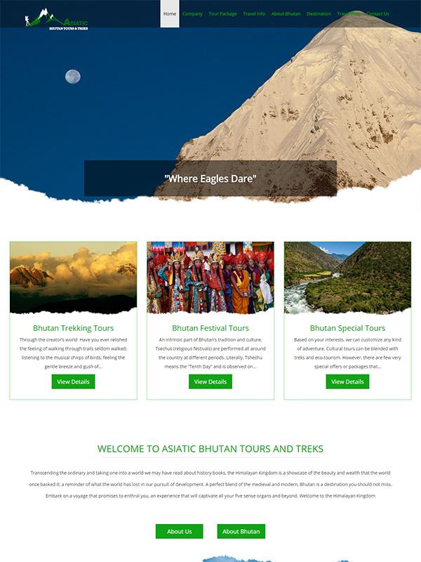 Asiatic Bhutan Tours