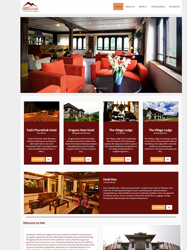 Himalayan Hotels and Lodges (HHL)