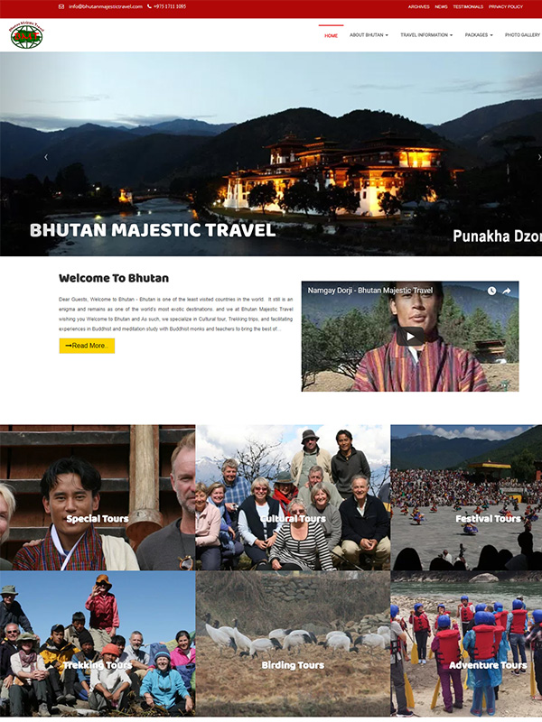 Bhutan Majestic Travel
