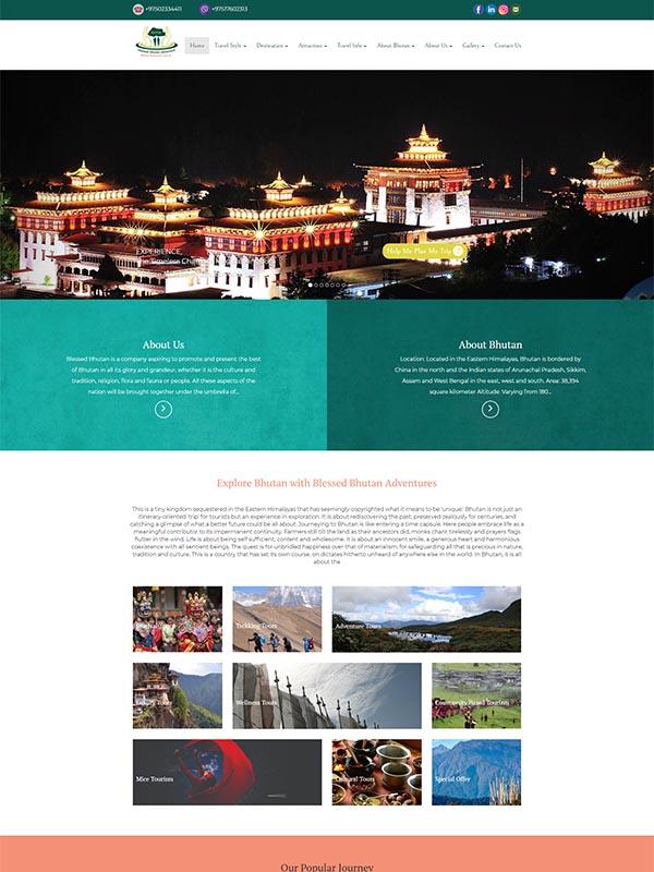 Blessed Bhutan